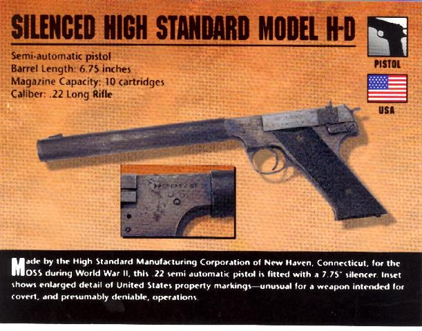 ... object title pistol semi automatic u s pistol model h d ms military